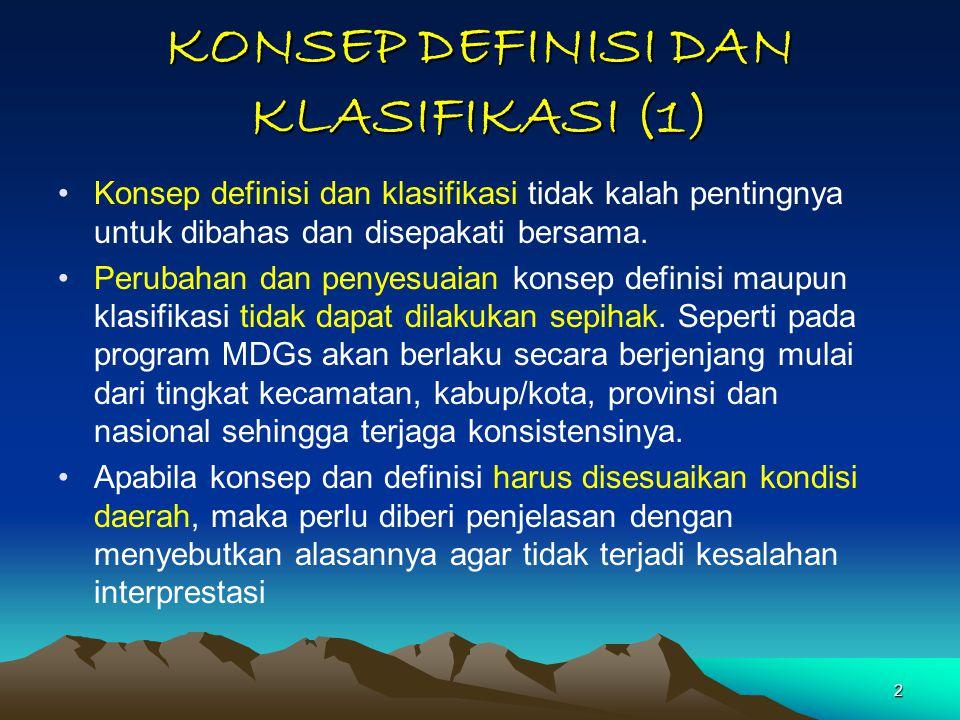 KONSEP DEFINISI DAN KLASIFIKASI (1)