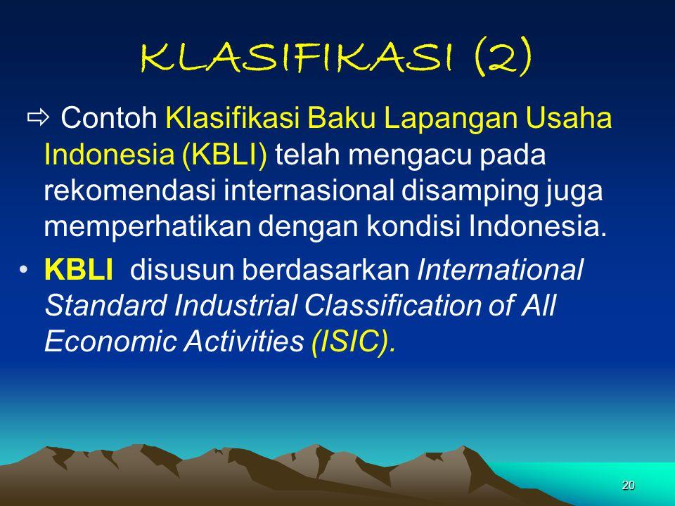 KLASIFIKASI (2)