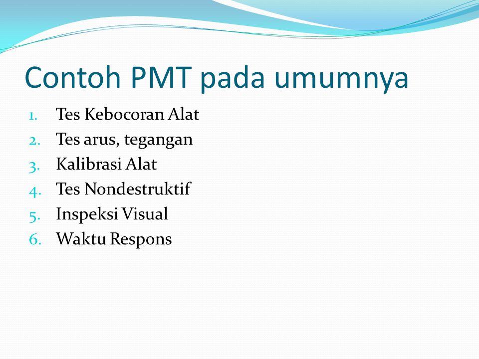Contoh PMT pada umumnya