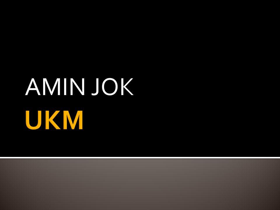 AMIN JOK UKM