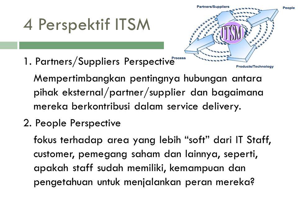 4 Perspektif ITSM