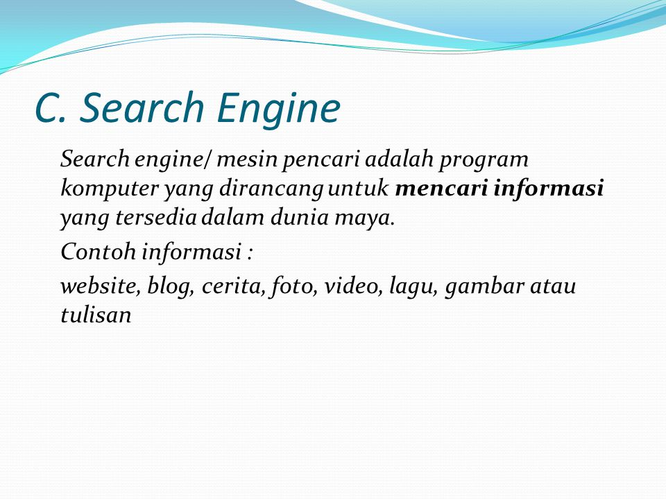 C. Search Engine