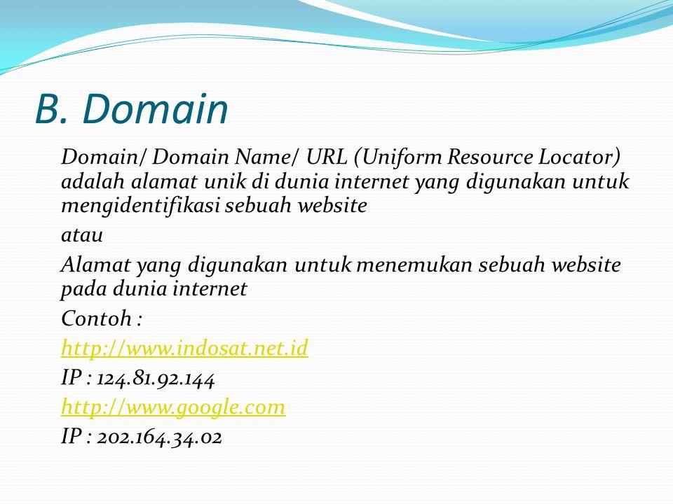 B. Domain