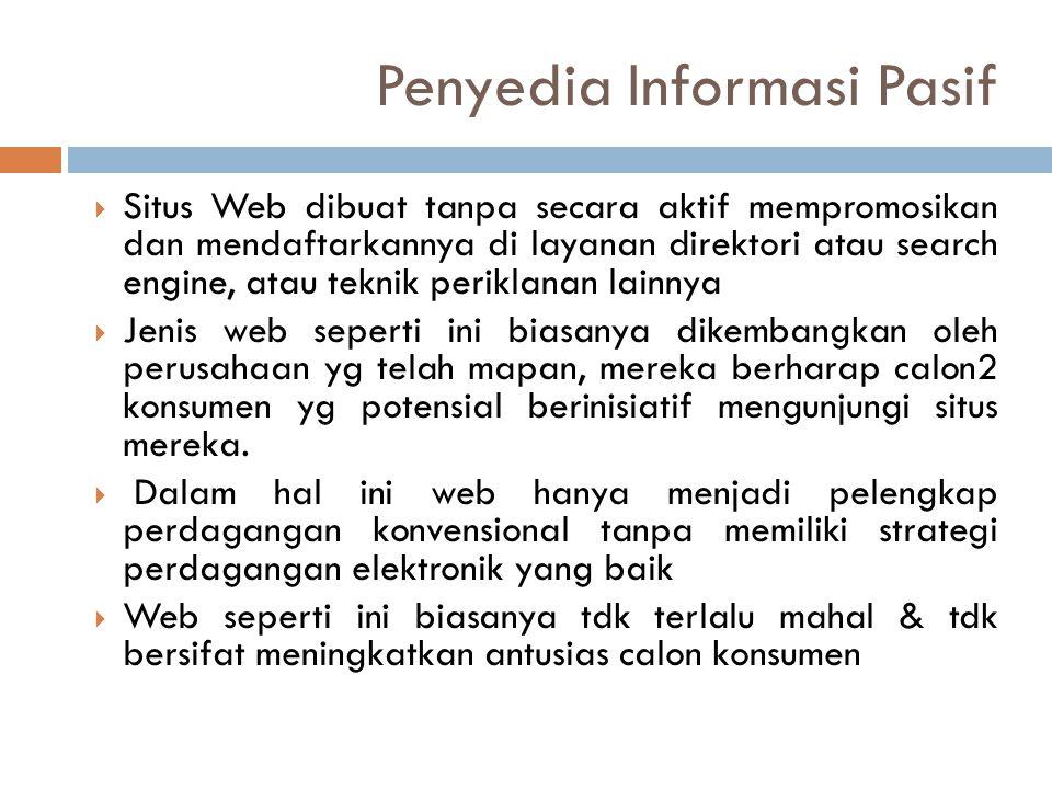 Penyedia Informasi Pasif
