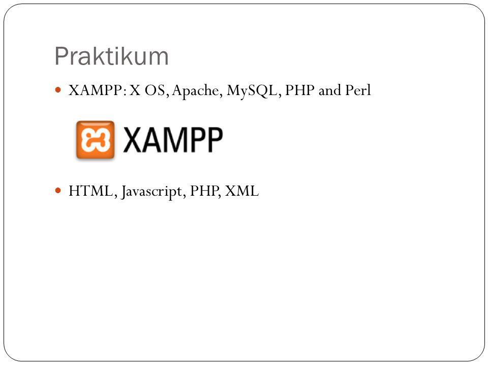 Praktikum XAMPP: X OS, Apache, MySQL, PHP and Perl