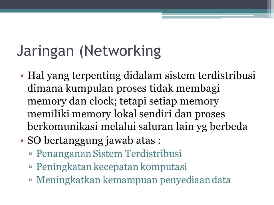Jaringan (Networking
