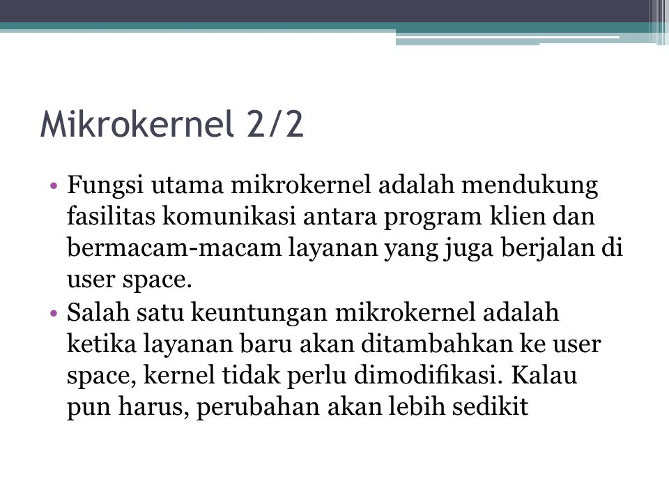 Mikrokernel 2/2