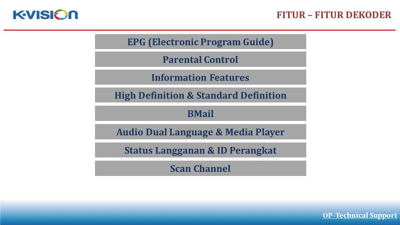 EPG (Electronic Program Guide)