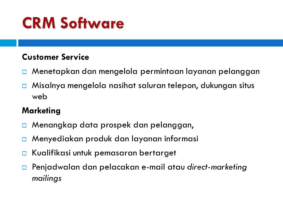 CRM Software Customer Service