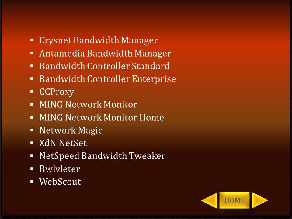 Crysnet Bandwidth Manager Antamedia Bandwidth Manager