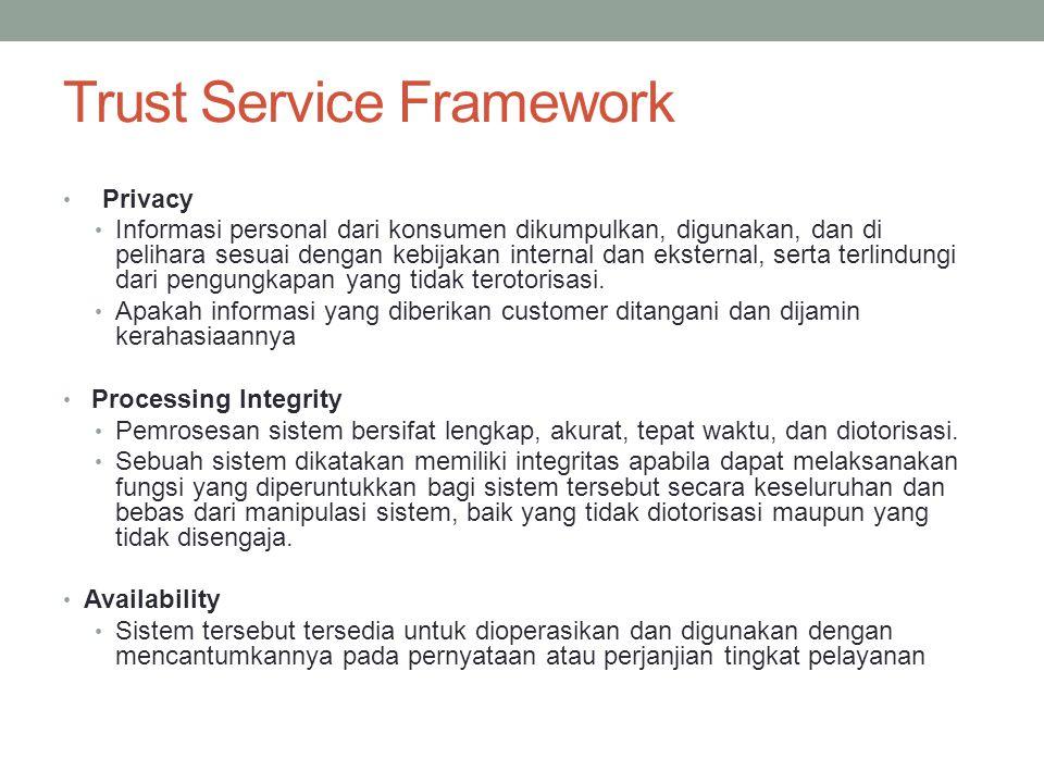 Trust Service Framework