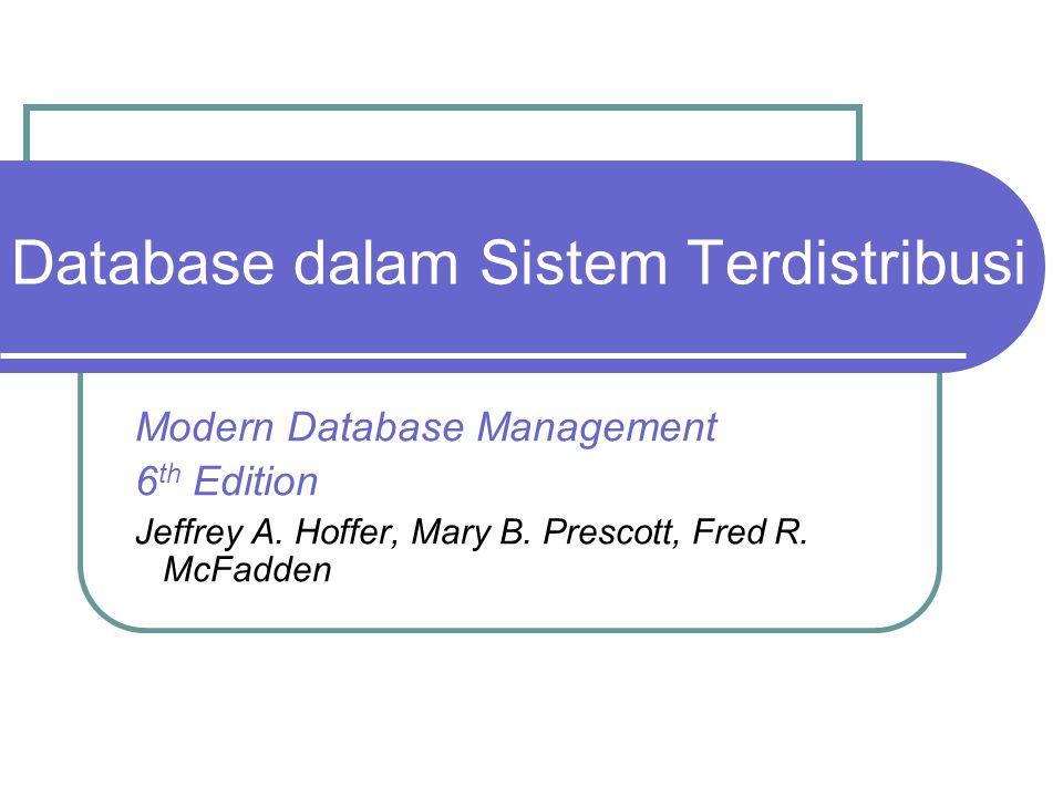 Database dalam Sistem Terdistribusi