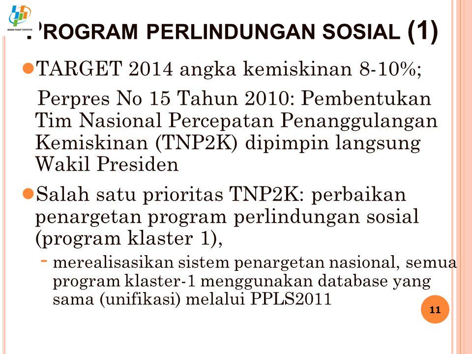 Program perlindungan sosial (1)