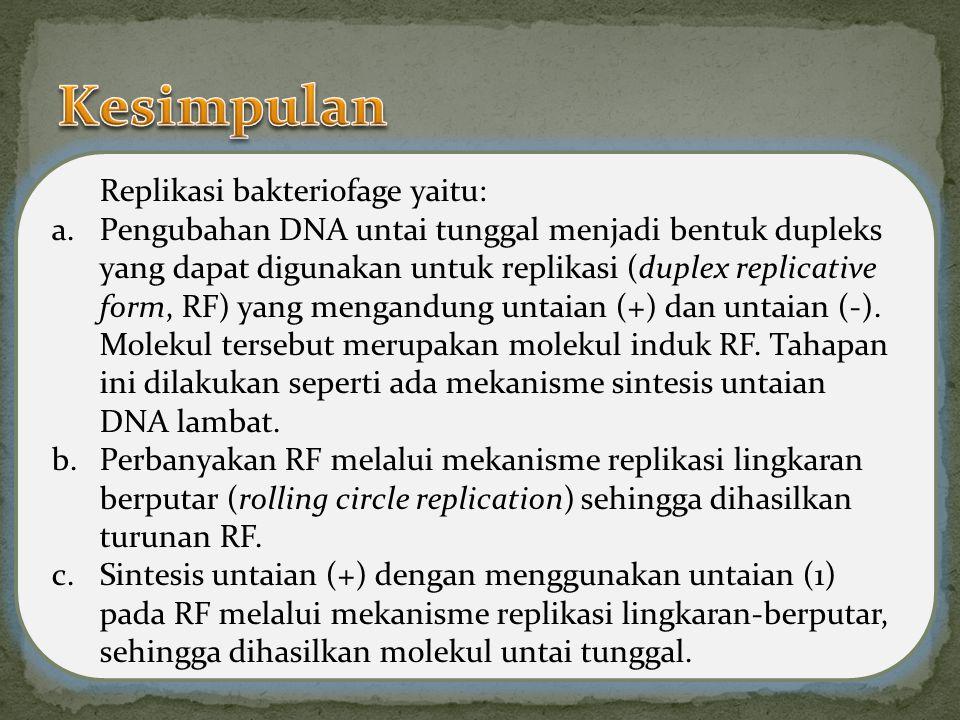 Bakteriofage adalah virus yang menyerang bakteri