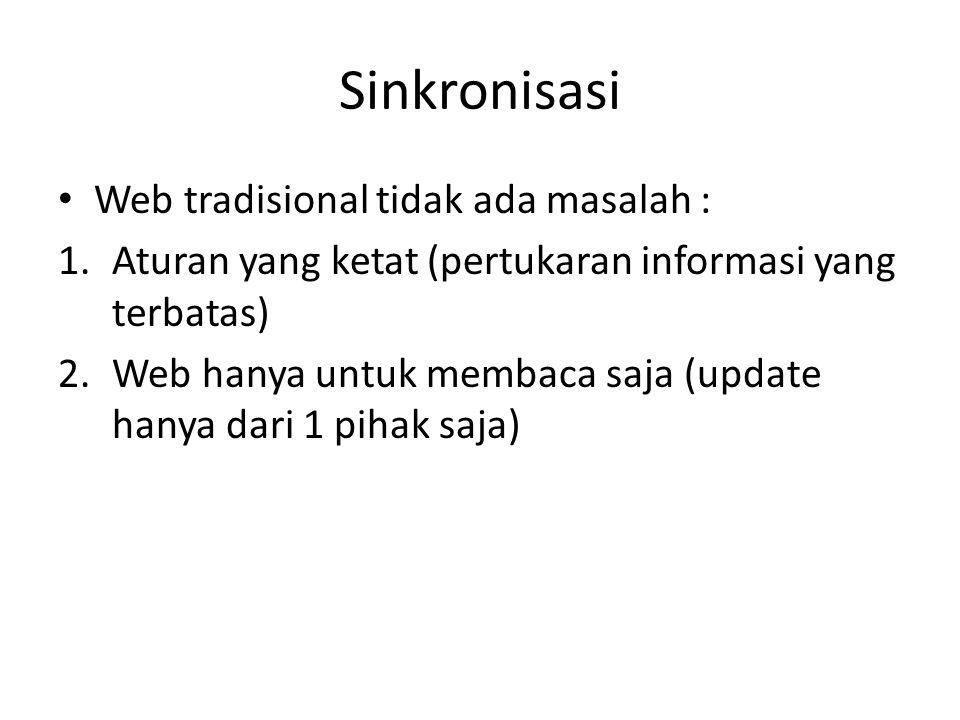 Sinkronisasi Web tradisional tidak ada masalah :