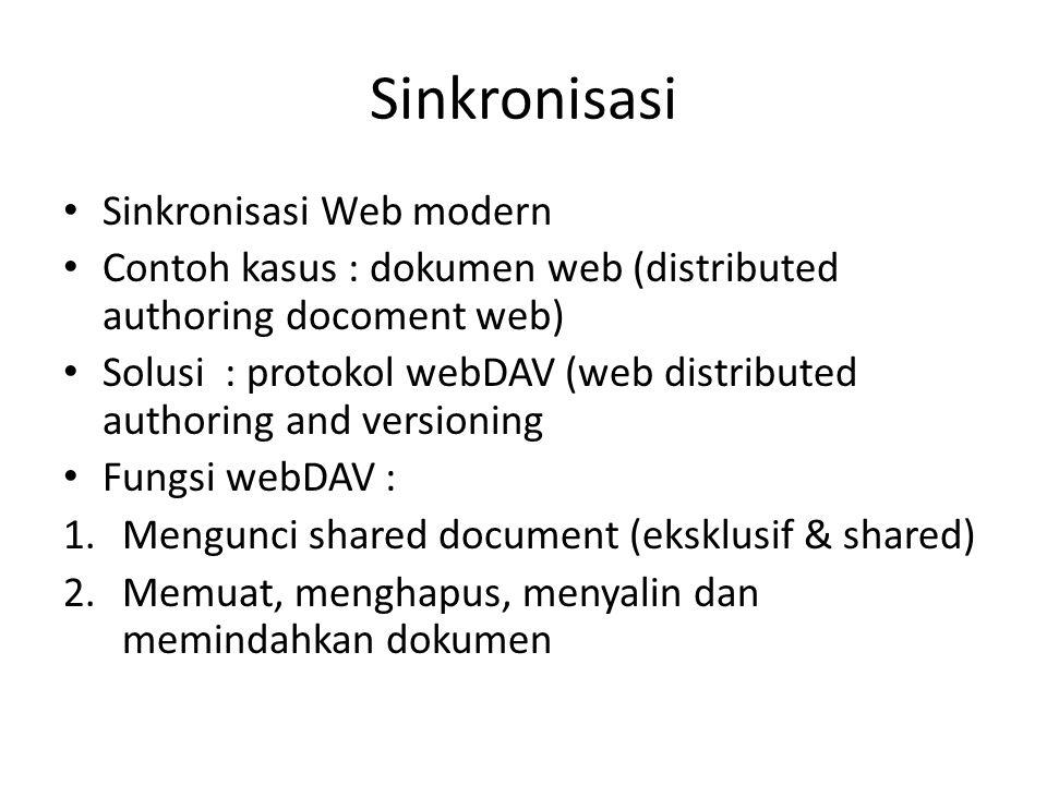 Sinkronisasi Sinkronisasi Web modern