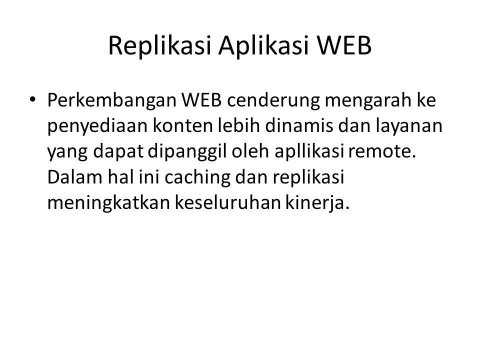 Replikasi Aplikasi WEB
