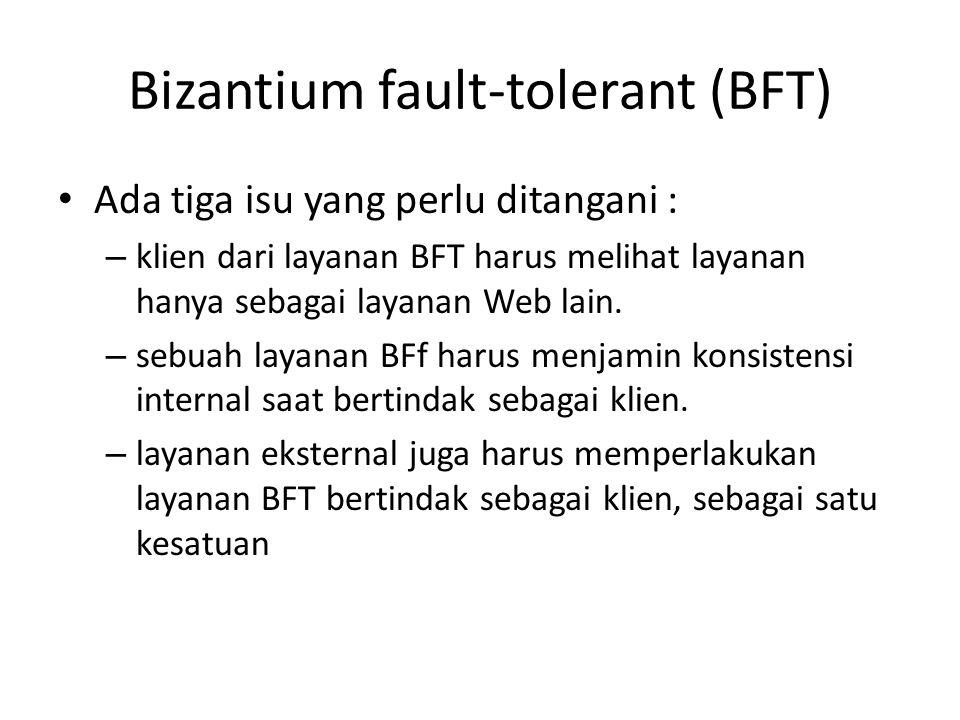Bizantium fault-tolerant (BFT)