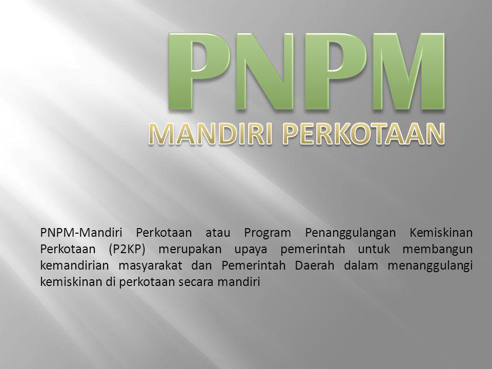 PNPM MANDIRI PERKOTAAN