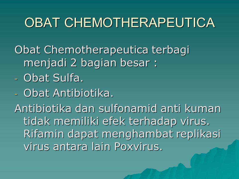 OBAT CHEMOTHERAPEUTICA