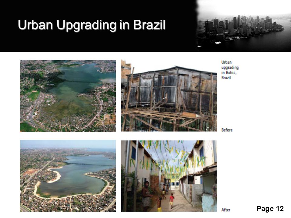 Urban Upgrading in Brazil