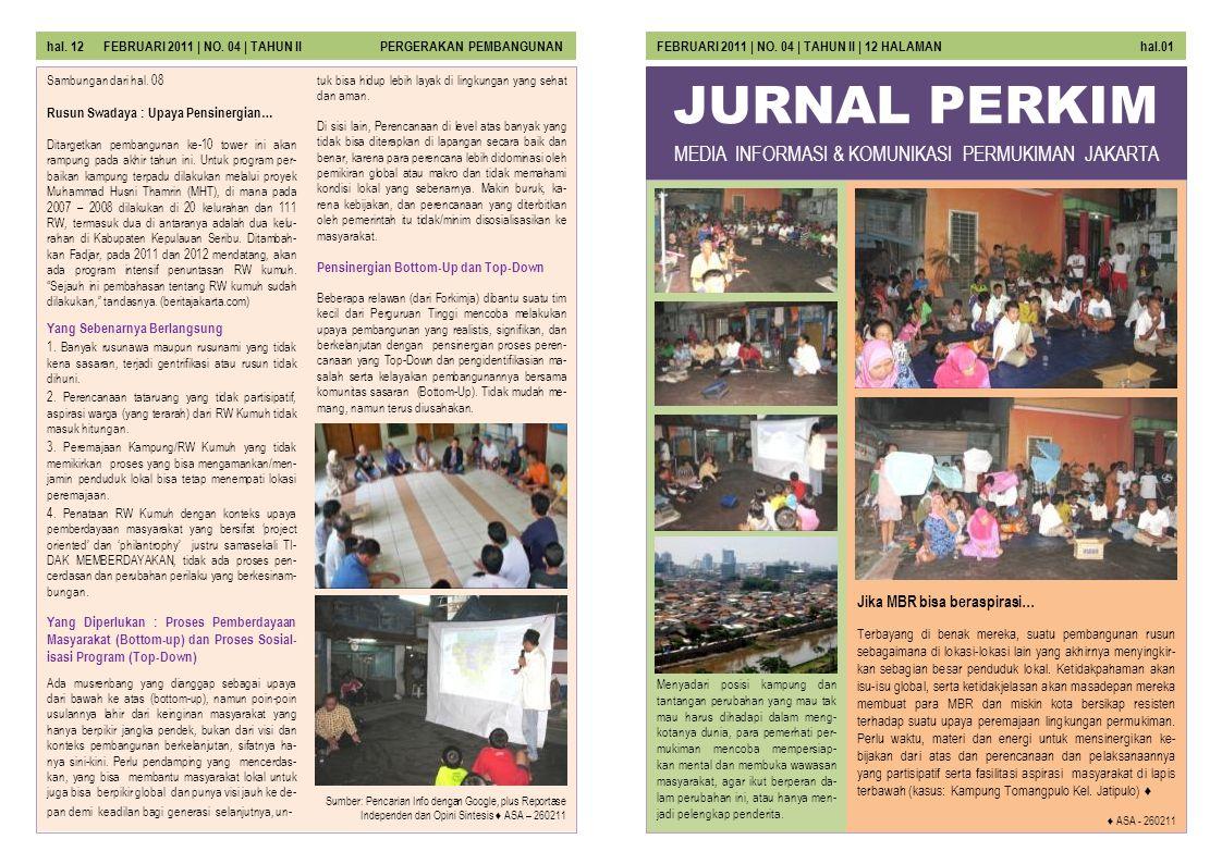 MEDIA INFORMASI & KOMUNIKASI PERMUKIMAN JAKARTA