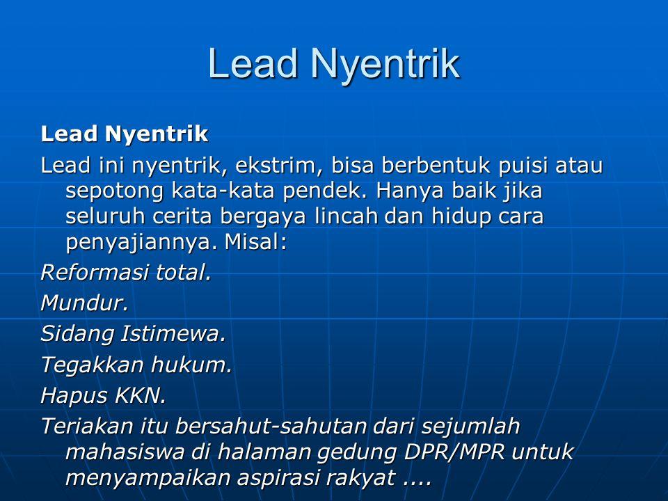 Lead Nyentrik