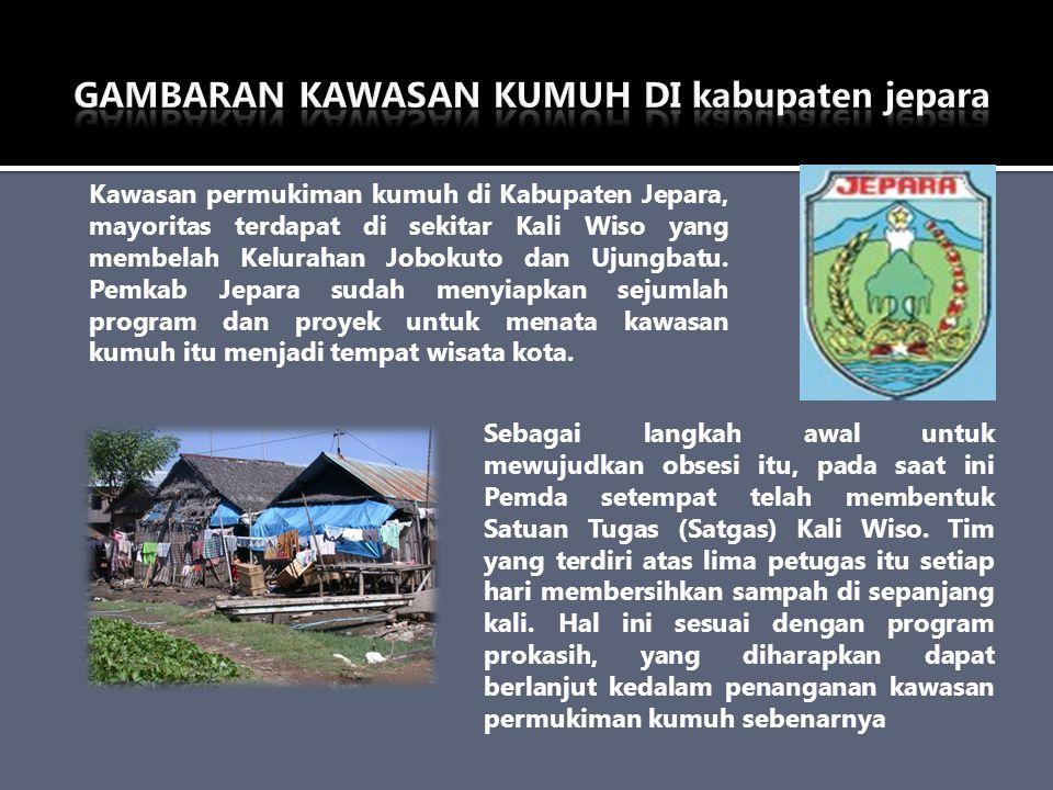 GAMBARAN KAWASAN KUMUH DI kabupaten jepara