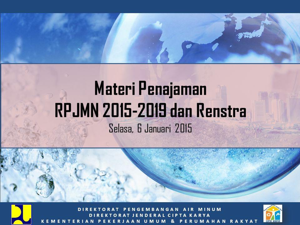 Materi Penajaman RPJMN 2015-2019 dan Renstra