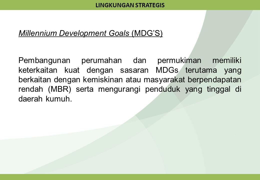 Millennium Development Goals (MDG'S)