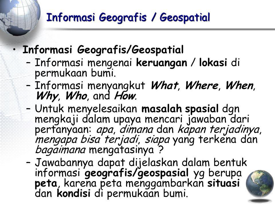 Informasi Geografis / Geospatial