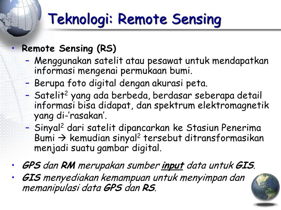 Teknologi: Remote Sensing