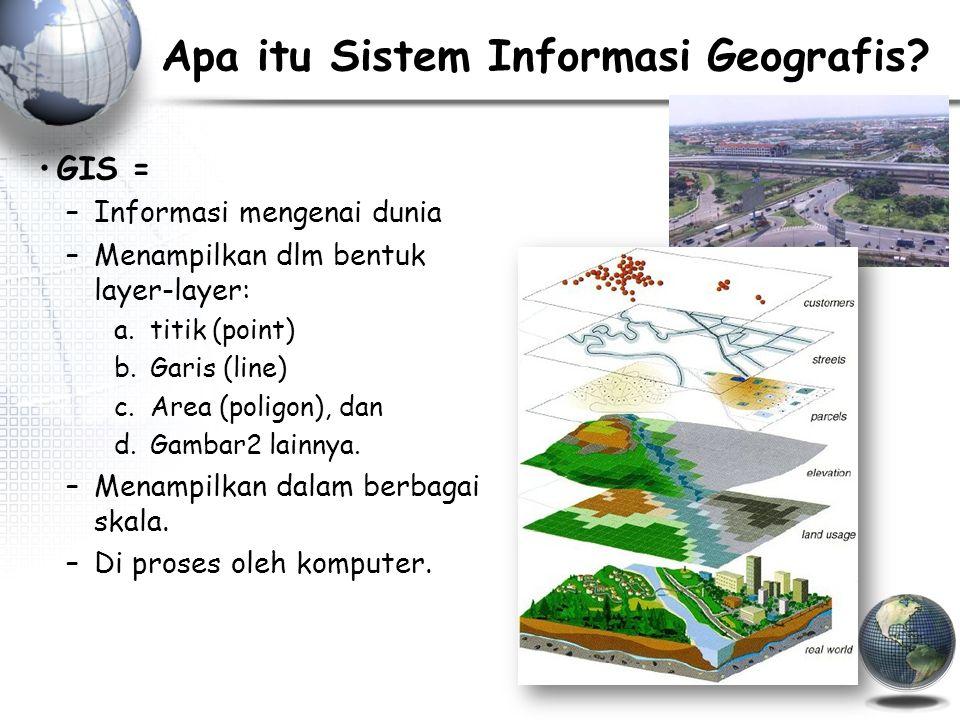 Apa itu Sistem Informasi Geografis