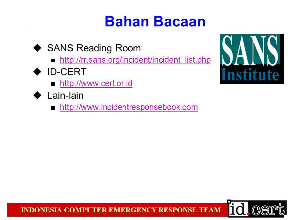 Bahan Bacaan SANS Reading Room ID-CERT Lain-lain