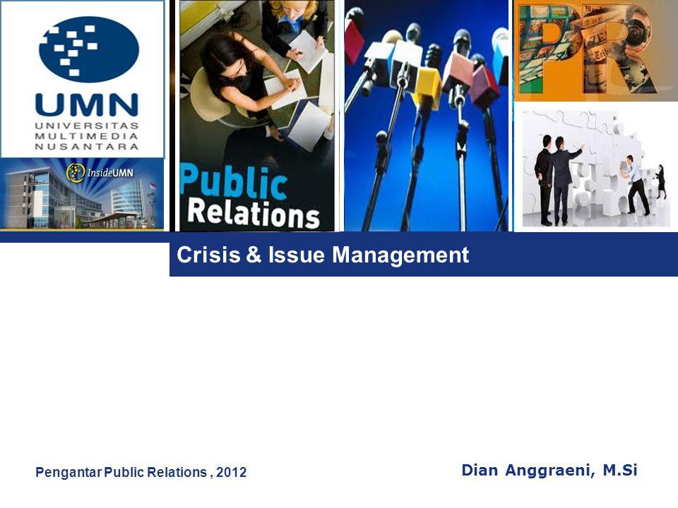 Crisis & Issue Management
