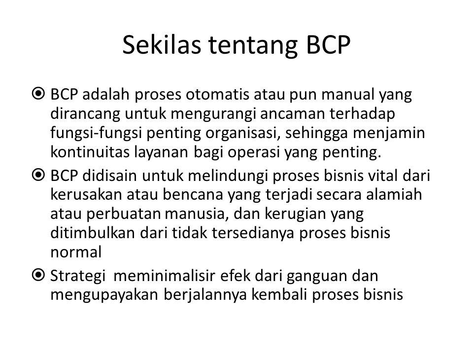 Sekilas tentang BCP