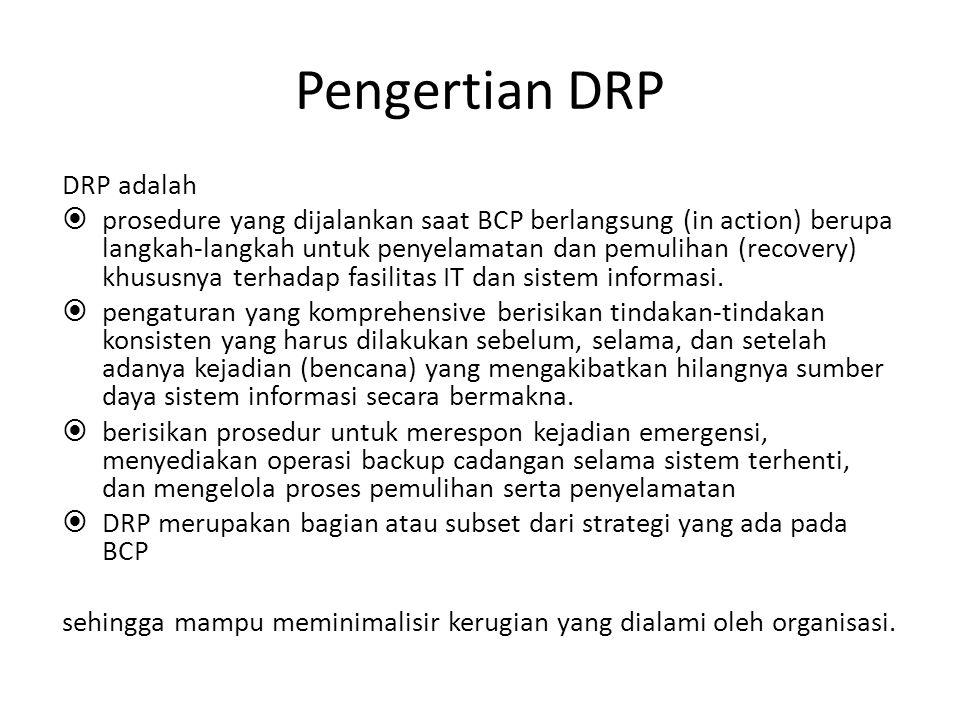 Pengertian DRP DRP adalah