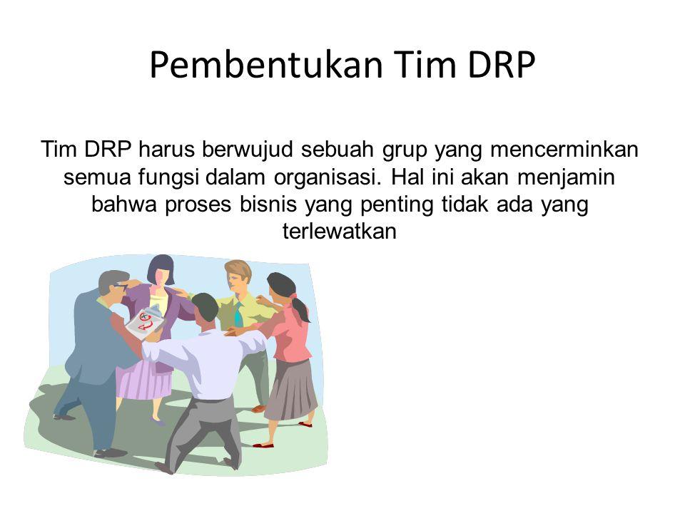 Pembentukan Tim DRP