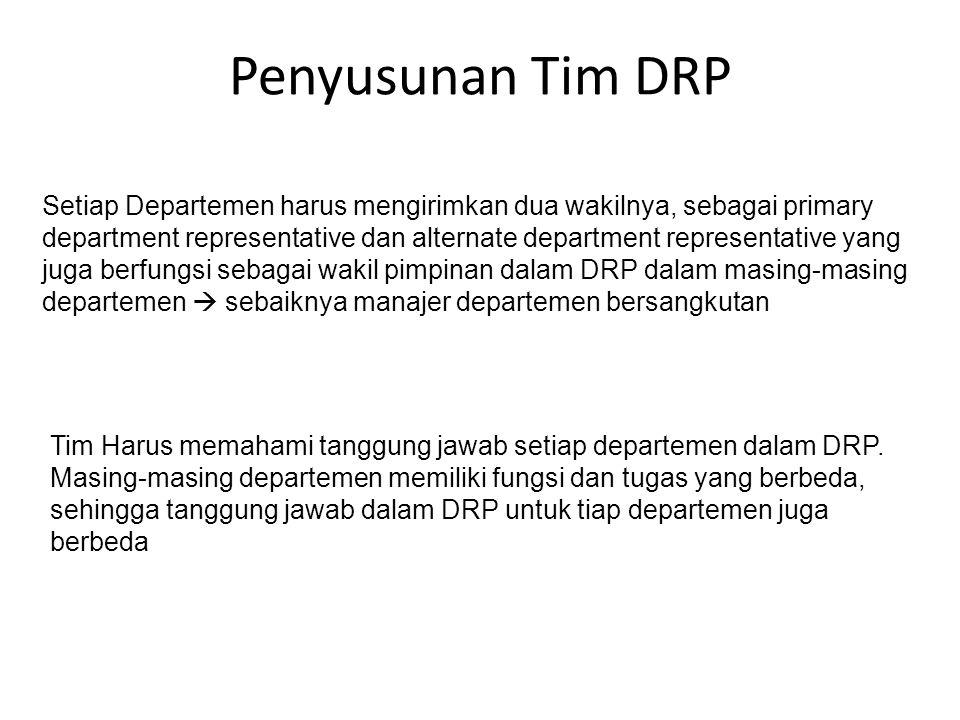 Penyusunan Tim DRP