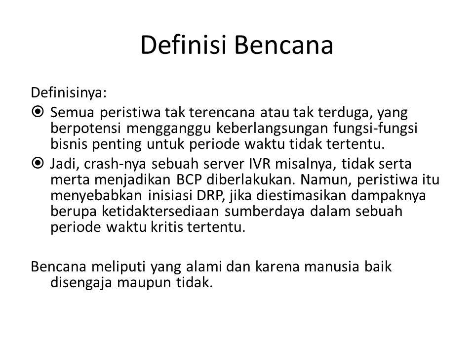 Definisi Bencana Definisinya: