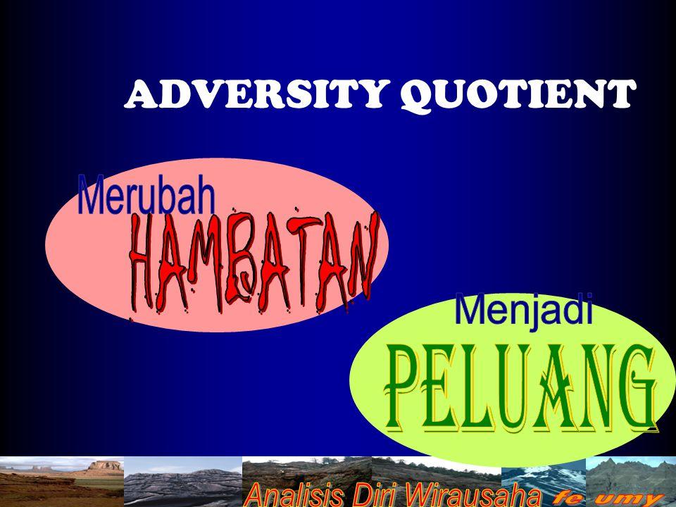 ADVERSITY QUOTIENT Merubah HAMBATAN Menjadi PELUANG
