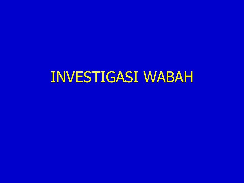 INVESTIGASI WABAH