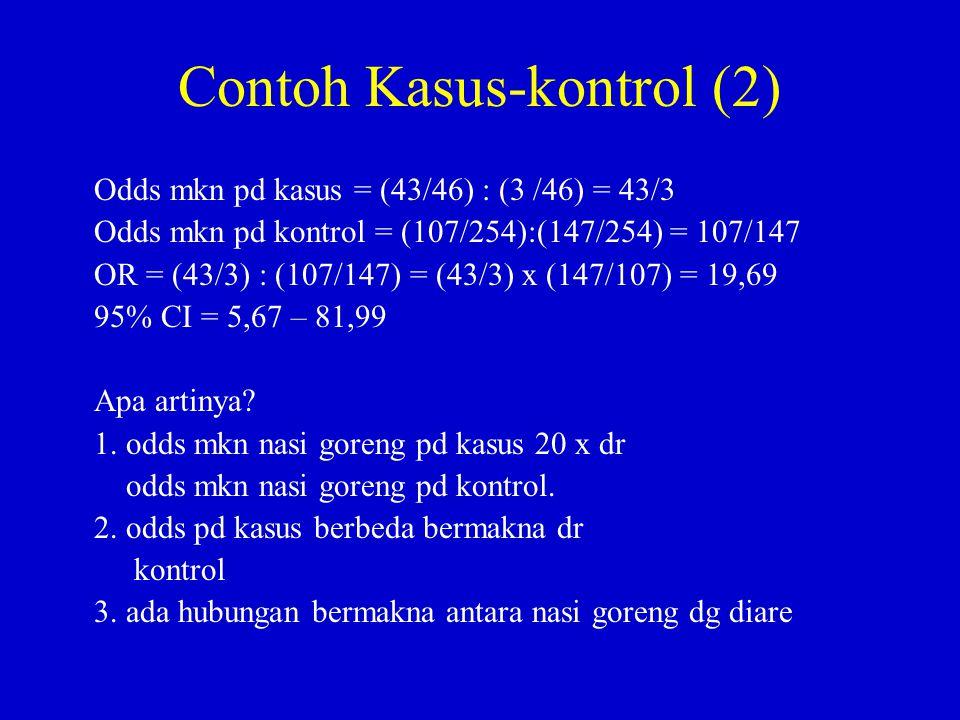 Contoh Kasus-kontrol (2)