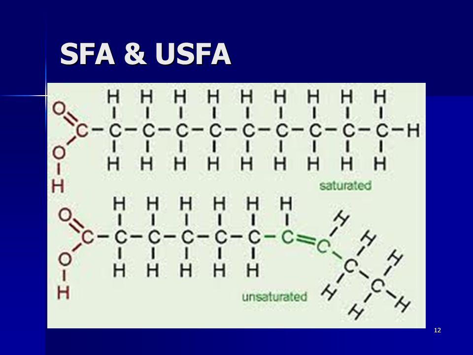 SFA & USFA