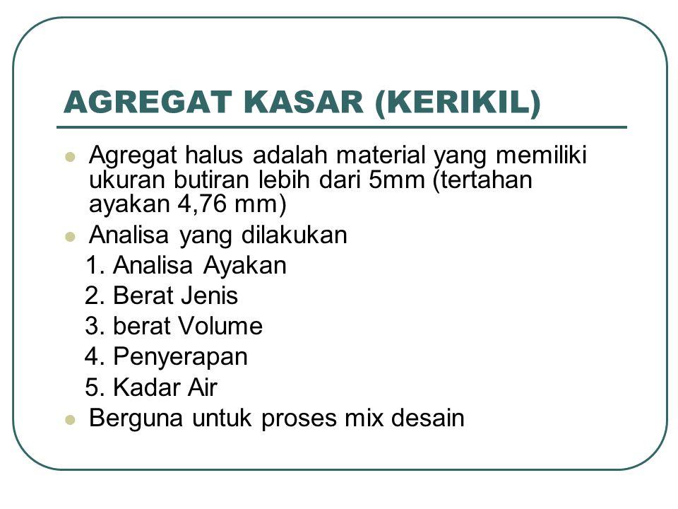 AGREGAT KASAR (KERIKIL)