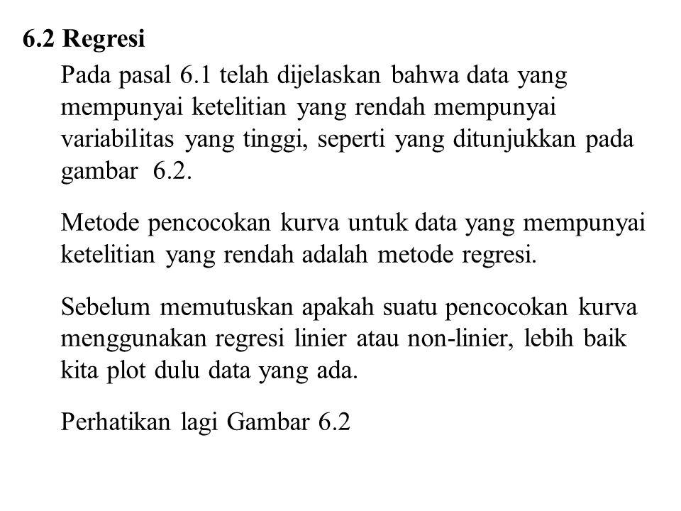 6.2 Regresi