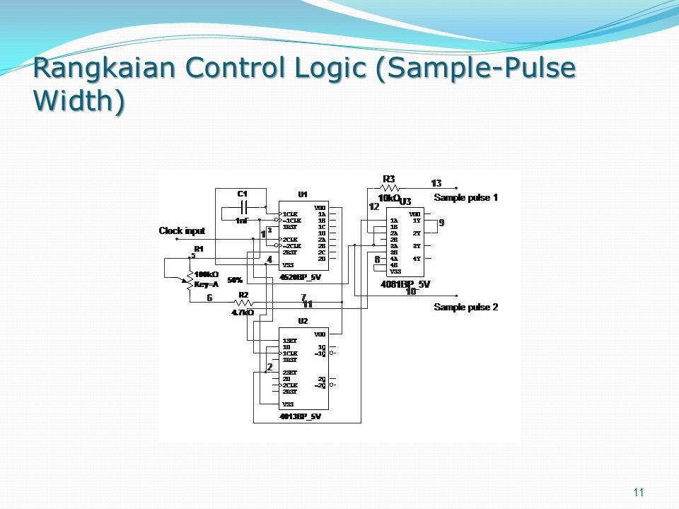 Rangkaian Control Logic (Sample-Pulse Width)