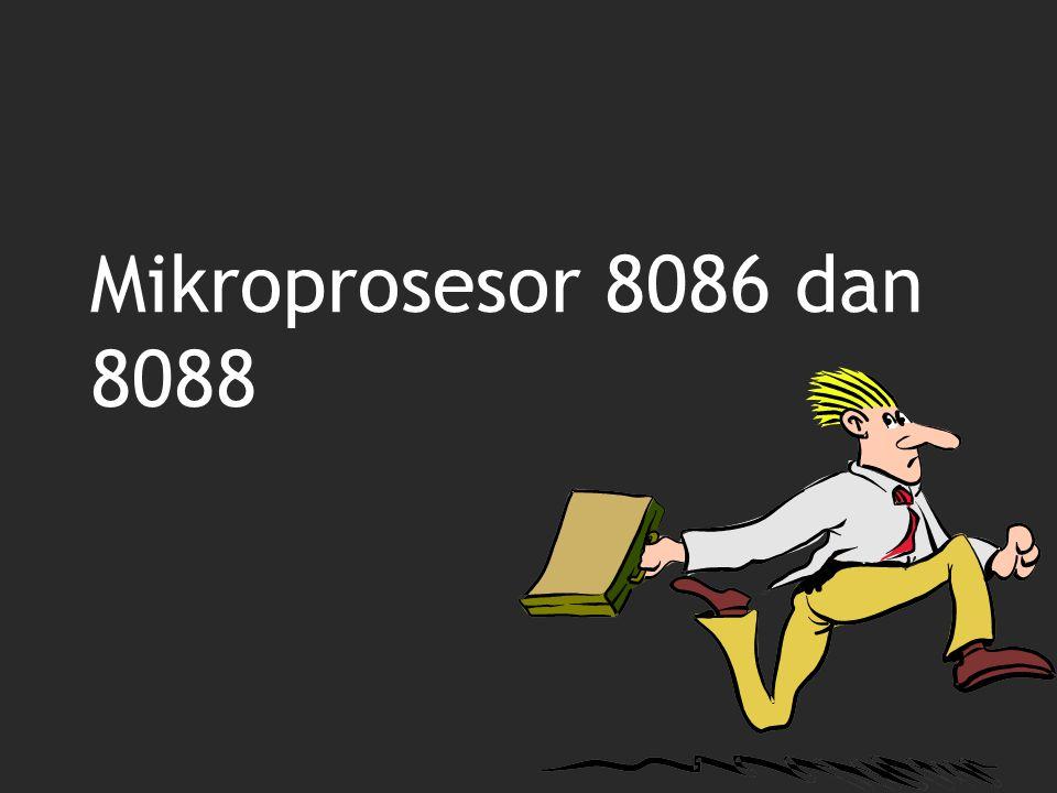 Mikroprosesor 8086 dan 8088