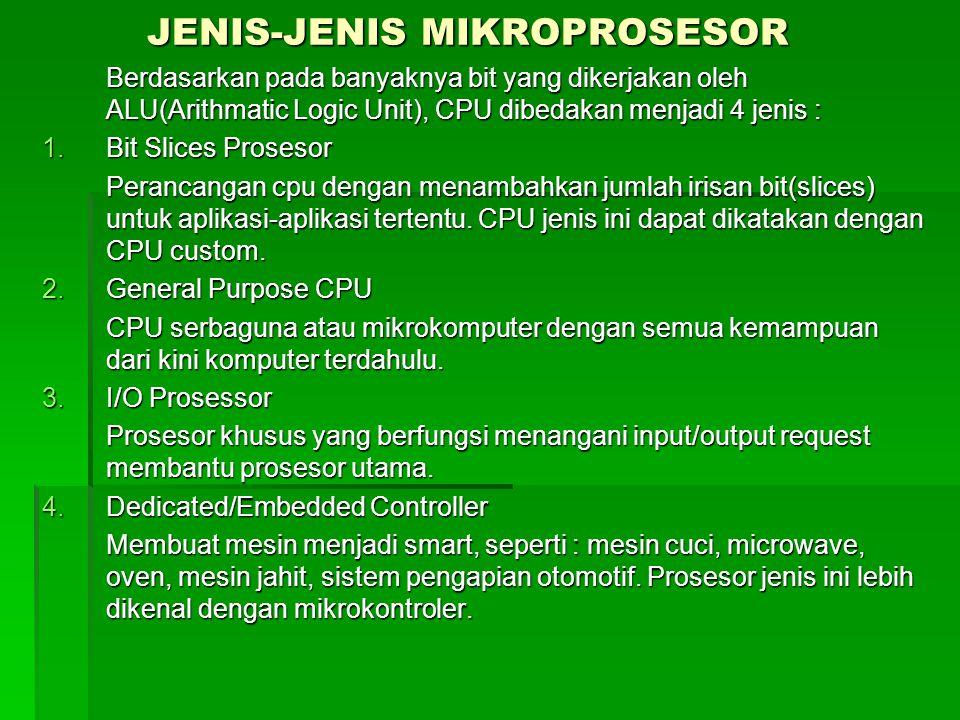 JENIS-JENIS MIKROPROSESOR