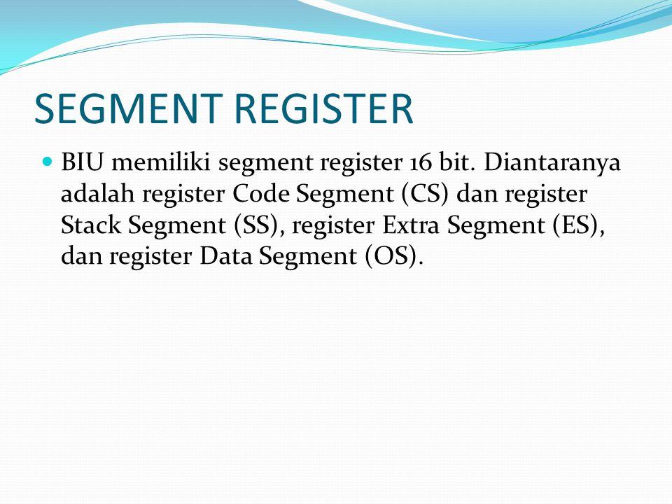 SEGMENT REGISTER